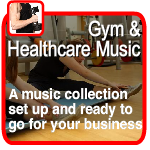 music for gym fitness and healthclubs