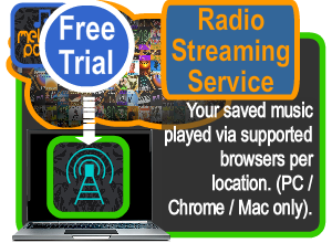 free trial in store radio streaming player