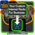 Radio music for business stream service