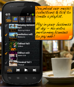 in store music player for Android