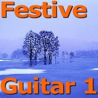Festive Guitar 1