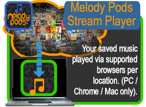 In store Background Music Streaming service for business