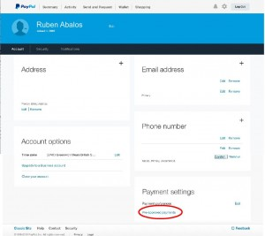 "With the new PayPal interface you can click your account, and scroll down to the bottom to view ""pre-approved payments""."